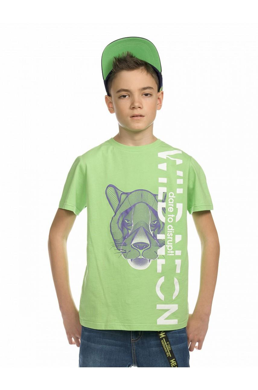 Футболка для мальчиков BFT4161 Зеленая