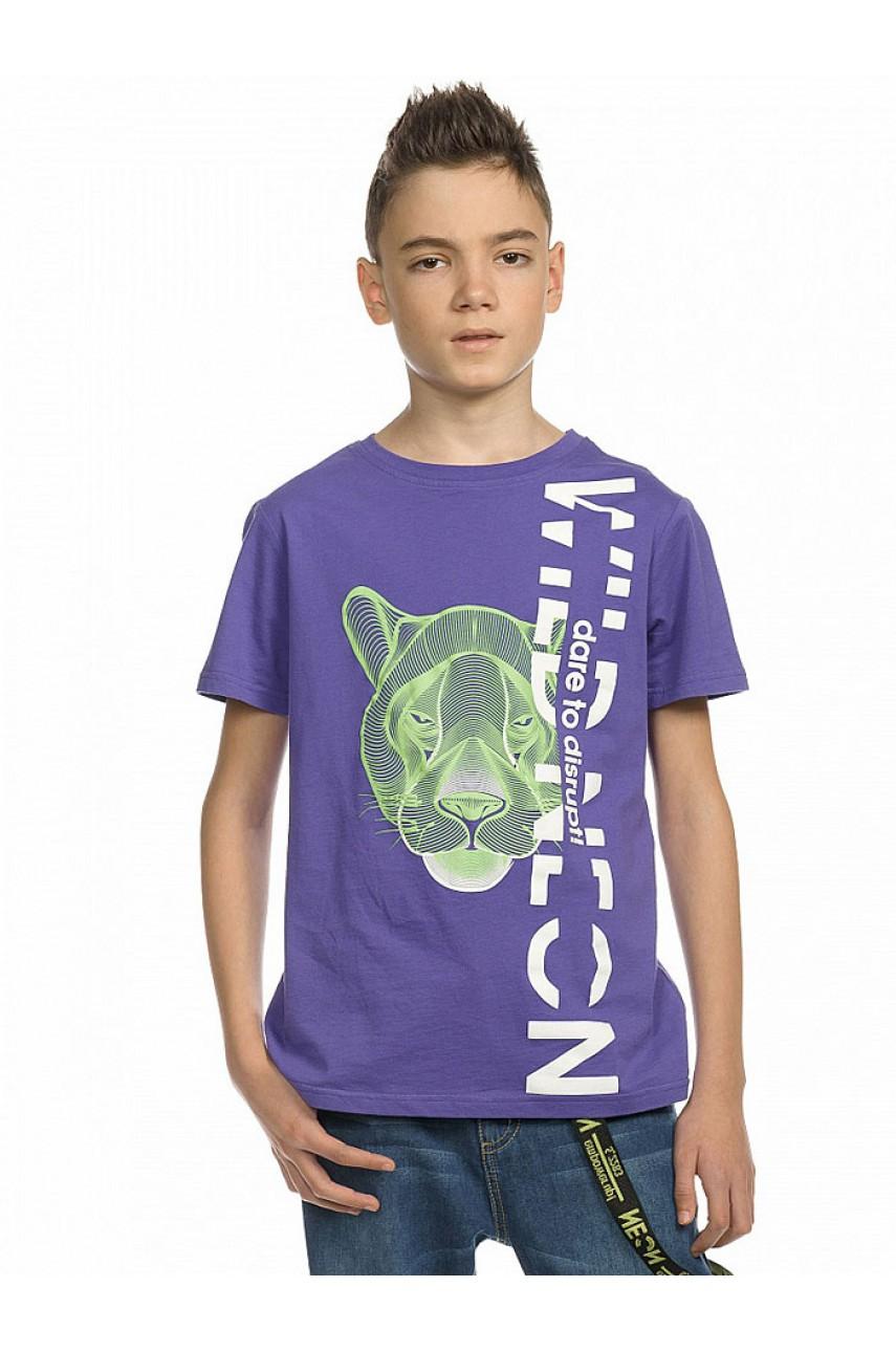 Футболка для мальчиков BFT4161 Фиолетовая
