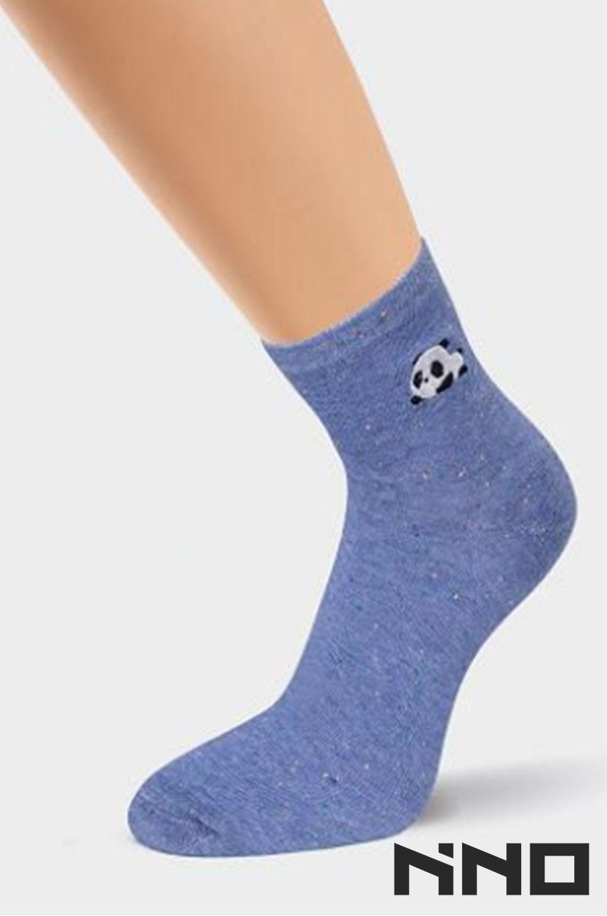 Носки женские CLEVER (меланж синий)