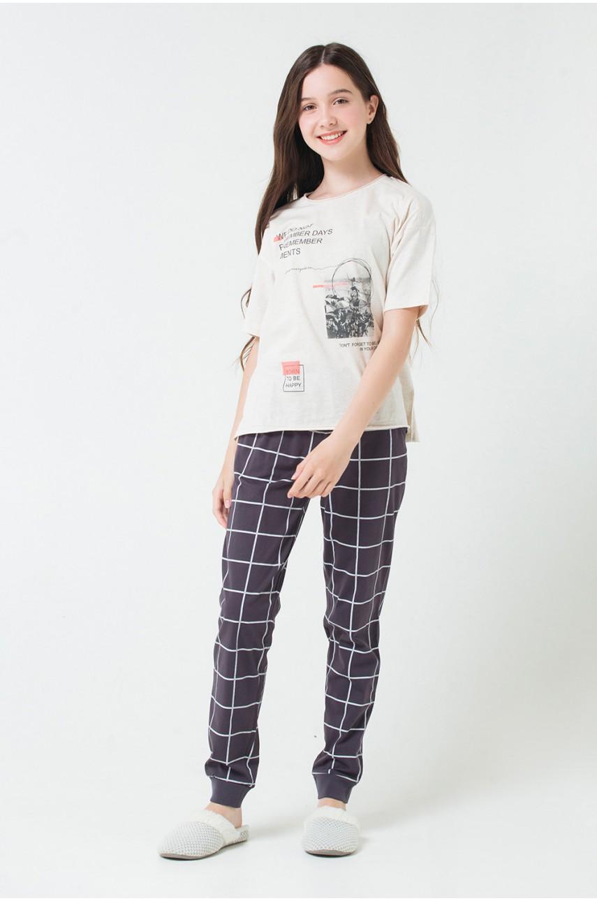 Пижама для девочек КБ2623
