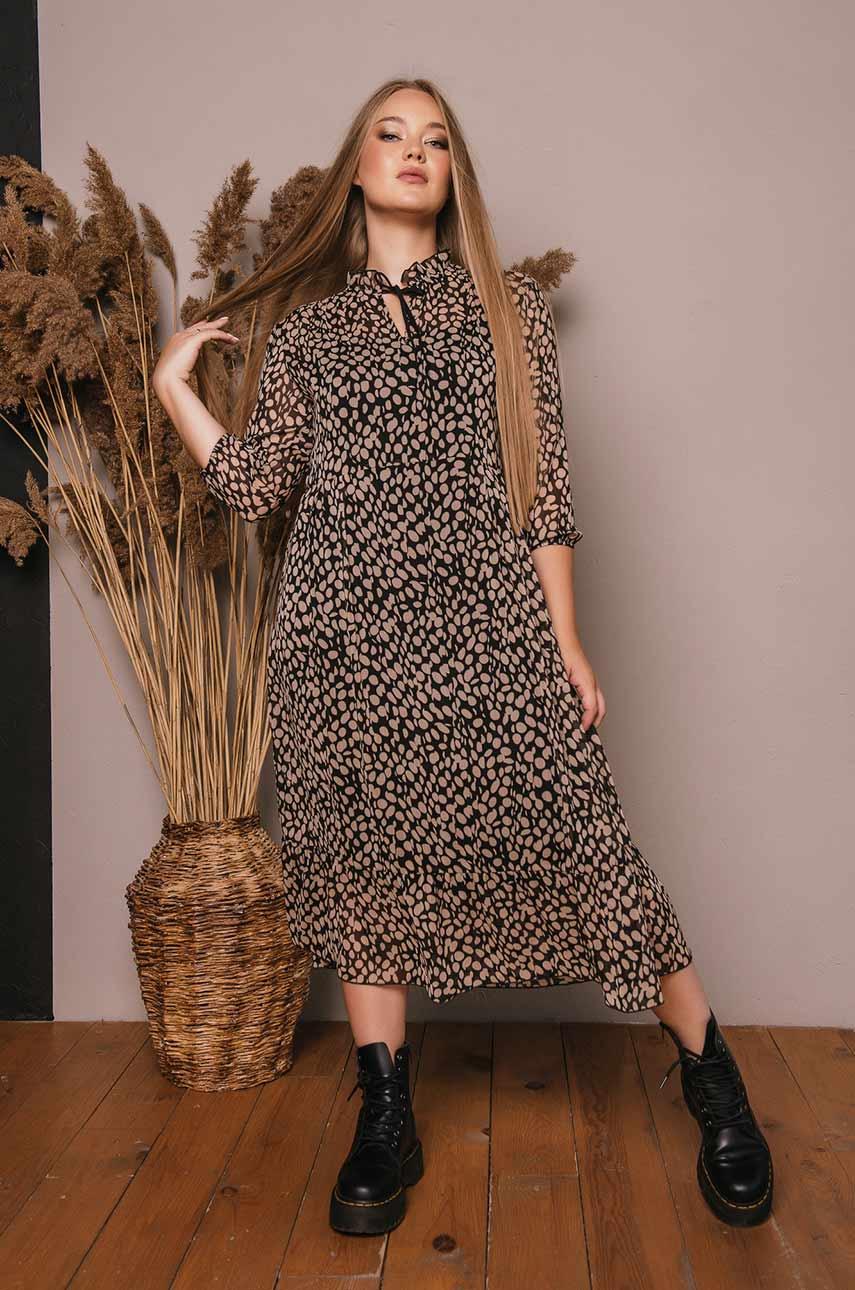 Платье с подкладкой 02945010
